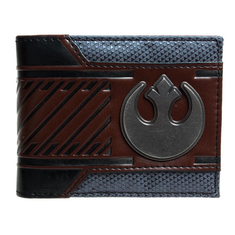 Star Wars Galactic Empire  Bi-fold Wallet  DFT-1406 star trek command metal logo bi a fold wallet dft 1404