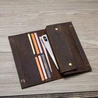 New luxury Brand Men Wallets Long Men Purse Wallet Male Clutch Leather Zipper Wallet Men Business Male Wallet Coin