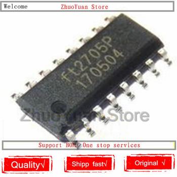 10 sztuk partia 100 nowy oryginał FT2705P FT2705 SOP-16 IC Chip nowy oryginalny w magazynie tanie i dobre opinie CN (pochodzenie)