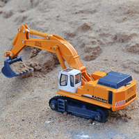 Alloy Engineering Vehicles Excavators Model Excavators Children S Toys Motor Vehicles Forklifts Toy Cars
