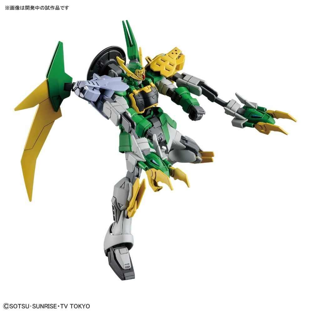 Bandai HG Build Duikers 011 1/144 Gundam Jiyan Altron TigerWolf Mobiele Pak Montage Hot Model Kits speelgoed voor kinderen robot
