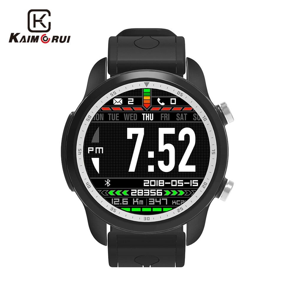 Kaimorui Smart Watch Android 6.0 OS KC03 4G Smartwatch Men IP67 Waterproof 1GB+16GB SIM Card Bluetooth Changeable Band