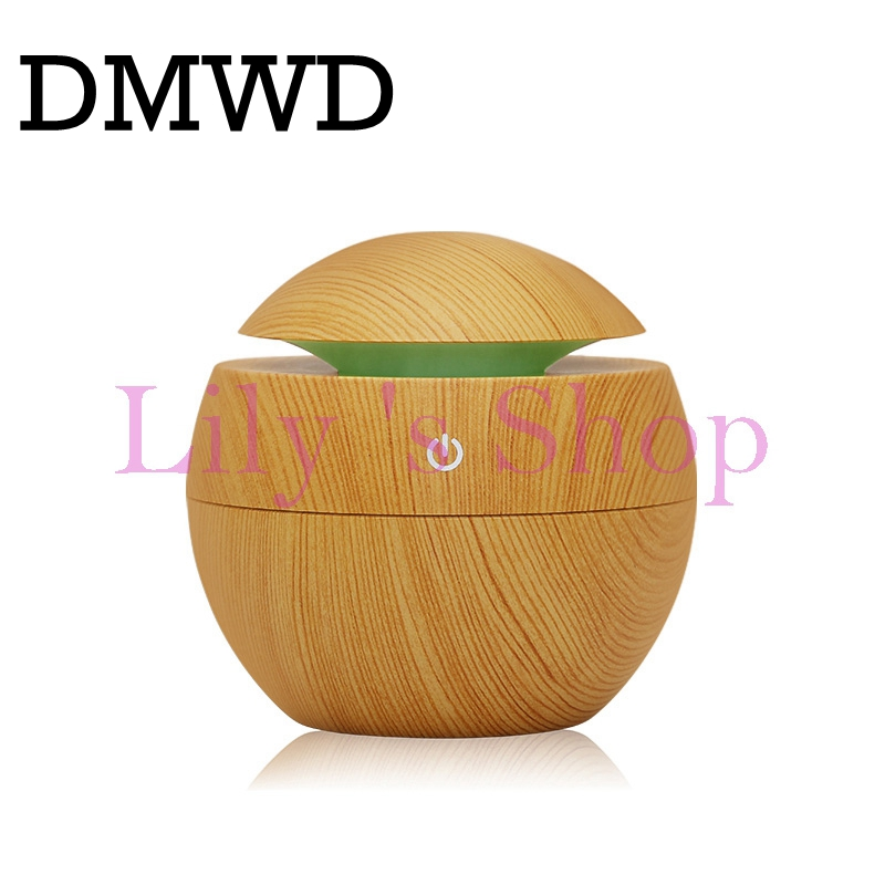 USB Ultrasonic Aroma Humidifier Aromatherapy Portable Mini air Humidifier Mist maker Air Diffuser Purifier for home office 130ml 130ml usb mini wooden ultrasonic aromatherapy humidifier portable mist maker led light dc 5v aroma diffuser air purifier