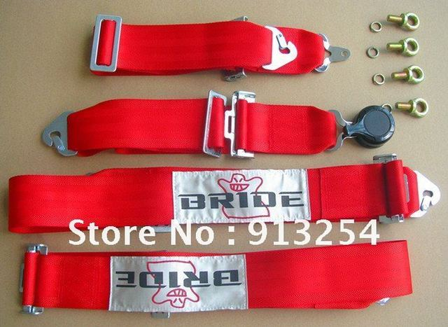 Bride Car Seat Belt Harness Racing Satefy Seat Belt Harness Quick Release 3 inches 4Point red_640x640 bride car seat belt harness racing satefy seat belt harness quick