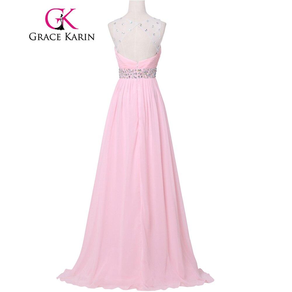 Grace karin schöne lange rosa lila lila brautjungfer kleider ...
