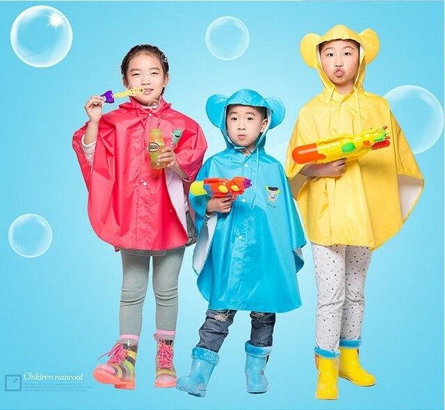 5eb648dac0 Top Quality100 % Originale Per Bambini Impermeabili Poncho Impermeabile  Unisex Impermeabile Per Il Bambino dei bambini