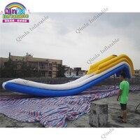 Alta qualidade doca do barco cruiser 4 m de altura inflável slide slide inflável para o iate