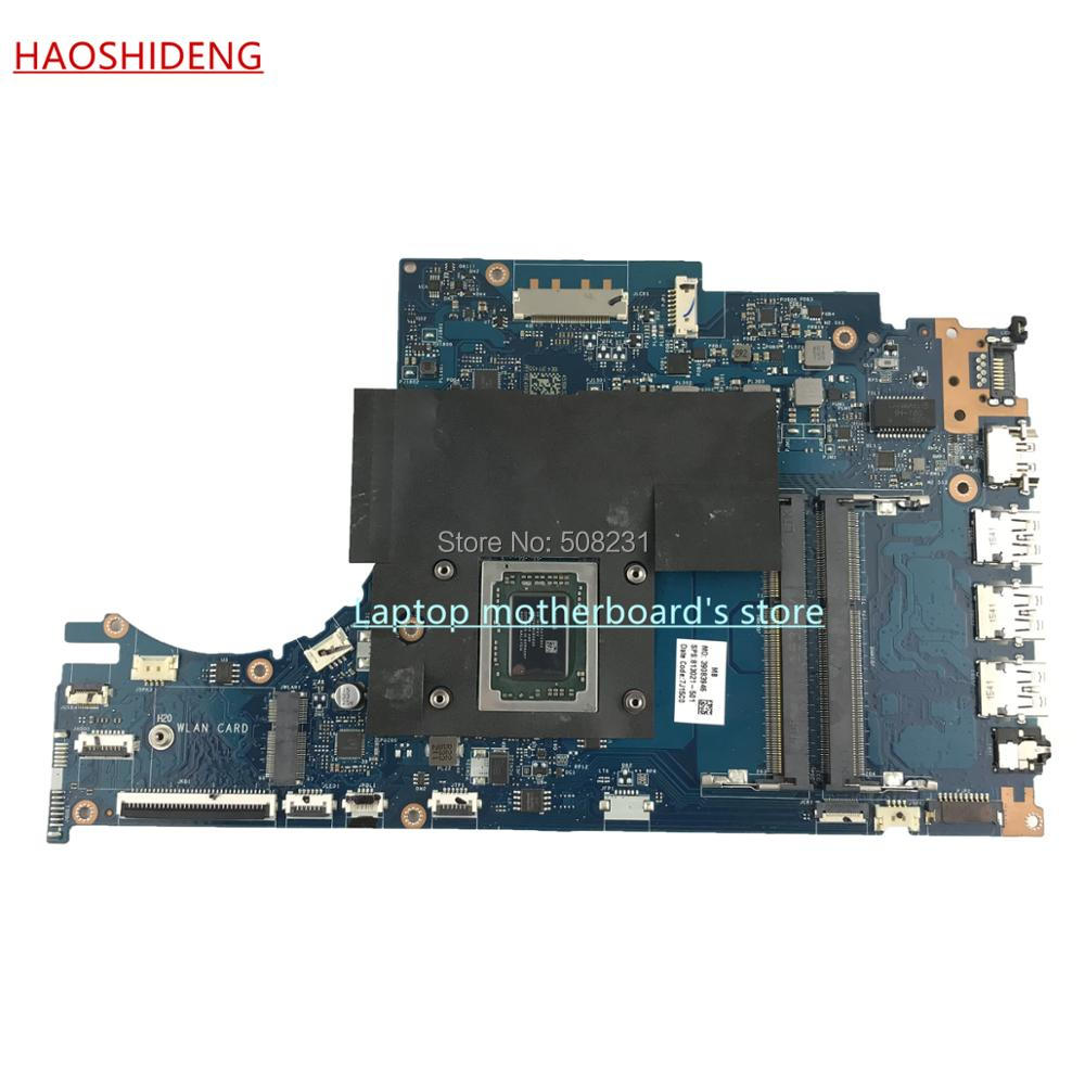 HAOSHIDENG 813021-501 813021-601 ACW51 LA-C502P for HP ENVY NOTEBOOK 15-AH 15Z-AH M6-P motherboard with FX-8800P,fully Tested 744009 501 744009 001 for hp probook 640 g1 650 g1 motherboard socket 947 hm87 ddr3l tested working