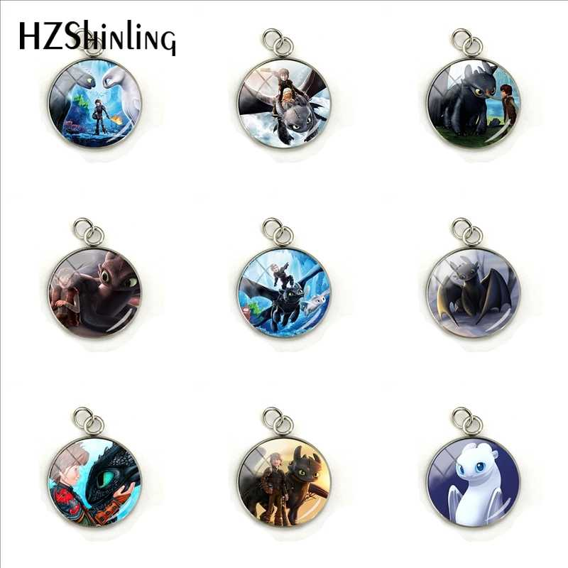 2019 New How to Training Your Dragon Anime Movies Charms Jewelry How to Training Your Dragon Style Pendants Gifts for Children