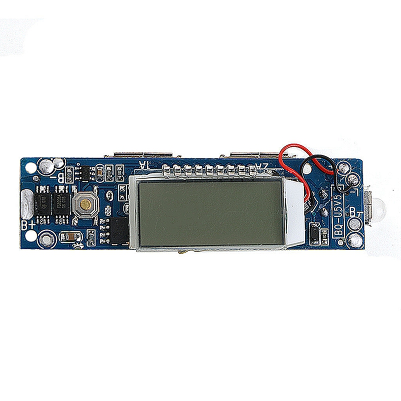 5V Mobile Power Bank Battery Charger Module LCD Display 18650 Lithium Board 5v 1a lithium battery charging board charger module li ion led charging board