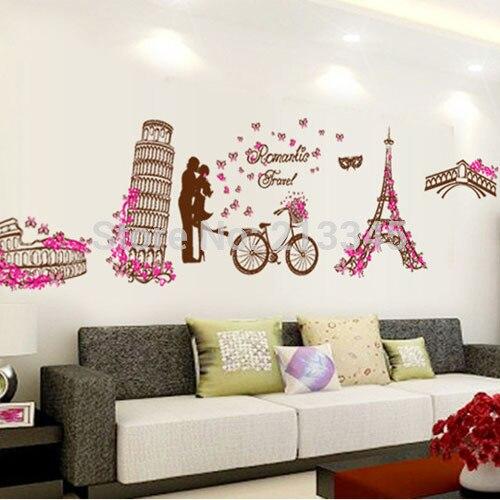 Paris Wall Stickers For Bedrooms - Bedroom design ideas
