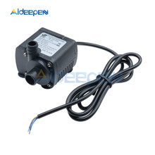 Micro Water Pump DC 12V 6W 450L/H Flow Rate Waterproof Brushless Pump Mini Submersible Water Pump for Aquarium Fountain Pool jt 1000a3 3000l h 7m high lift mini brushless booster pump 12v dc water pump 24v submersible fountain pump speed controller