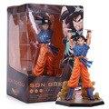 "6.8 ""Figuarts zero Anime Dragon Ball Z Goku Genki dama Bomba Espíritu PVC Figura de Acción de Recogida de Juguetes"