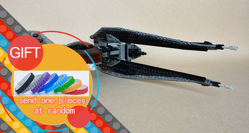 05127 705Pcs The Tie Model Fighter Set Star Plan Series 75179 War Building Blocks Bricks Educational DIY Christmas Gifts lepin rollercoasters the war of the worlds