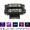 Free shipping MINI LED Spider Beam Moving Head Light/LED 8x10W Bar beam/led spider light disco dj lights/dmx stage effect light