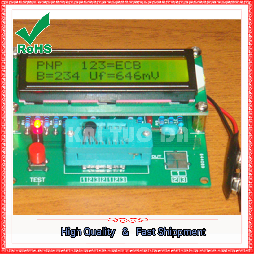 M328 transistor tester \ RLC table \ ESR table module boardM328 transistor tester \ RLC table \ ESR table module board