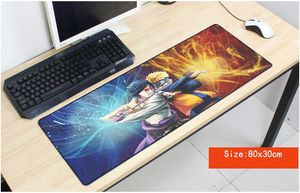 Image 3 - Naruto mouse pad anime pad to mouse notbook computer mousepad High quality gaming padmouse gamer to laptop 80x30cm mouse mats