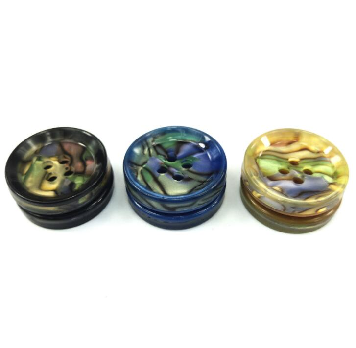 50pcs 11 5mm 15mm 20mm 25mm Top Fashion New design Decorative Buttons Men 39 s Shirts Are Four Eye Button Coat Resin Buttons in Buttons from Home amp Garden