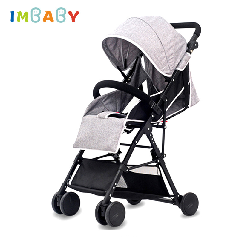IMBABY High Landscape Lightweight Baby Strollers For Travel Plane Baby Carriages For Newborns Light Baby Prams Baby Pushchair все цены