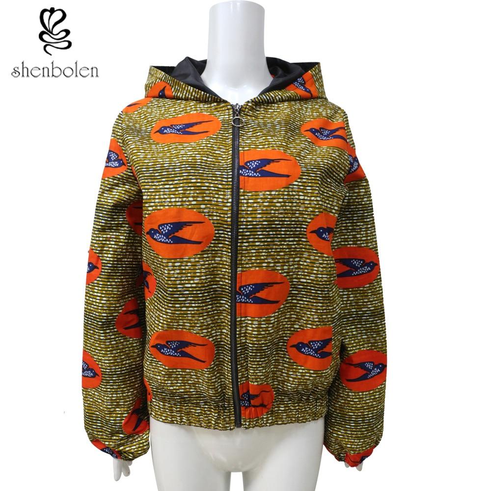 African Clothes for Women And Men Ankara Print Wax batik Long Sleeve   Basic     Jacket   Loose coat