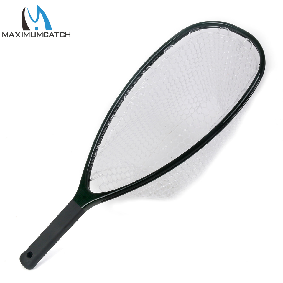 Maximumcatch Fly Fishing Landing Net Clear Rubber Net Carbon Frame Nomad Hand Strong & Light bestdvr 805 light net в москве