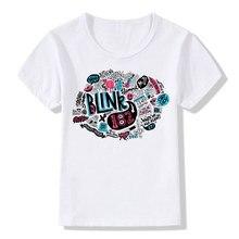 Blink 182 Print T-Shirt Boys Girls Toddlers Kids