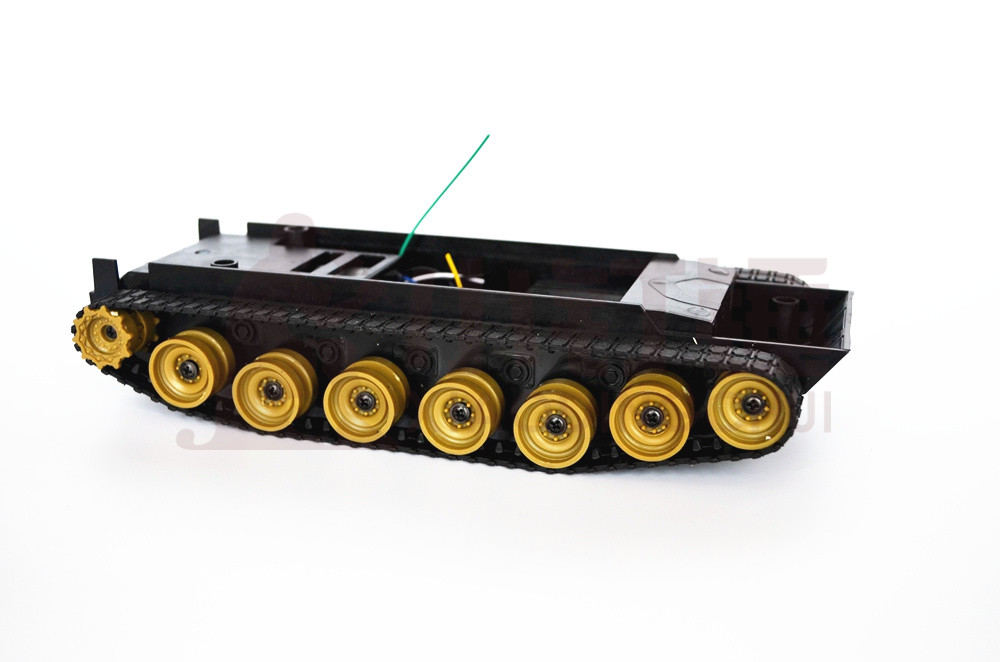 Barato robô tanque chassis do carro plataforma diy lagarta rastreador veículo pista inteligente para arduino rc brinquedo de controle remoto