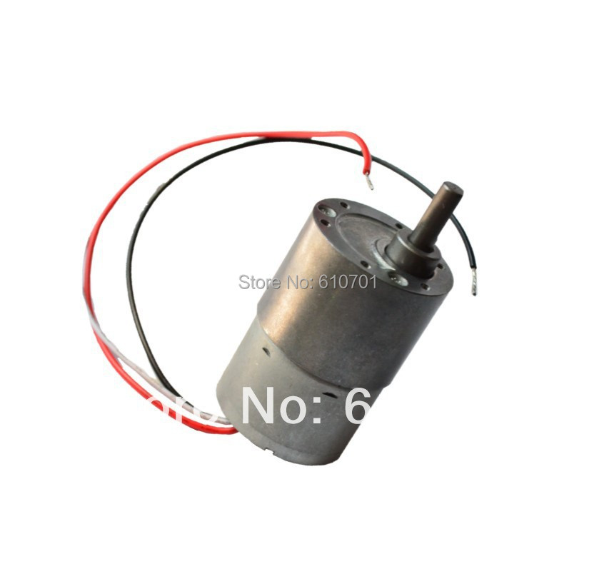 12V 24V  Rotate Speed Reduction Brushless Electric DC Geared Motor JGB37-3625 Can Control Rotate as CCW or CW  dc 12v 60rpm 2 terminals connectortorque speed control geared motor