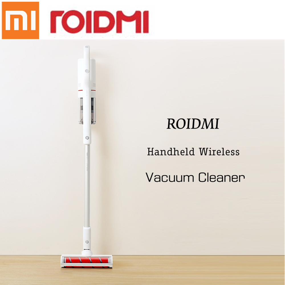 Xiaomi Vacuum Cleaner ROIDMI XCQ01RM Portable Handheld Strong Suction Home Appliance Dust Collect Vacuum Cleaner Wireless 2 suction modes usb vacuum cleaner wireless handheld vacuum cleaner mini portable keyboard desktop cleaner for home office