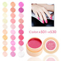 #501-530 CANNI nail dryer pure color 5 ml paint UV Gel Jar 141 Colors Long Lasting Pure Colors UV led nail Gel Lacquer Varnish