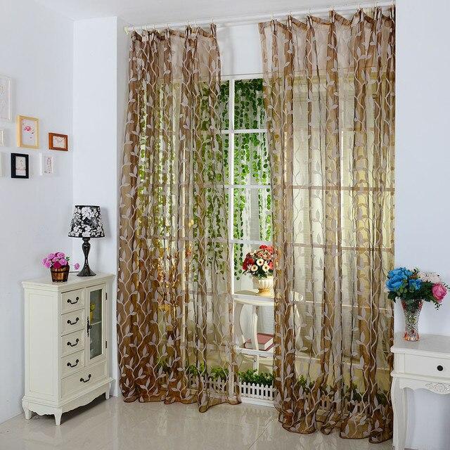 Luxus mode stil vorhänge küche vorhänge fenster vorhang panel ...