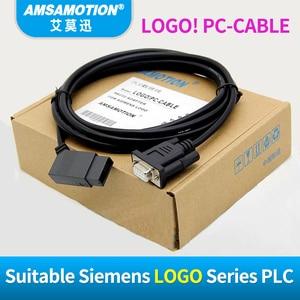Image 3 - USB LOGO מבודד ללוגו סימנס סדרת PLC תכנות כבל לוגו! USB כבל RS232 כבל לוגו PC CABLE PC 6ED1057 1AA01 0BA0