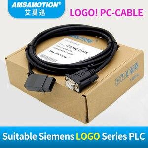 Image 3 - USB LOGO แยกสำหรับ Siemens LOGO Series PLC การเขียนโปรแกรมโลโก้! สาย USB RS232 สายโลโก้ PC CABLE PC 6ED1057 1AA01 0BA0