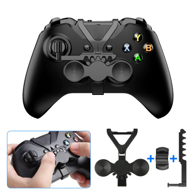 Addon Replacement Accessories for All Xbox Racing Game Wheel Controller Steering Wheel Assist Handle for XBox One S/X Controller image