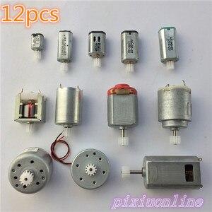 Micro motor CC J033Y de 12 Uds. En un paquete con engranaje DIY, enseñanza y tecnología necesarias, gran calidad en venta
