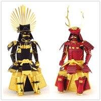 Toyotomi Hideyoshi Sanada Yukimura Japanese Samurai Armor 3D Metal Puzzles For Children Adult Model Jigsaw Educational