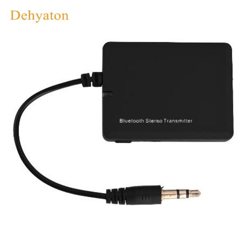 Mini 3.5mm Audio Transmitter Bluetooth 4.0 Adapter Bluetooth Transmitter Wireless Audio Transmitter Receiver for TV PC Aptx