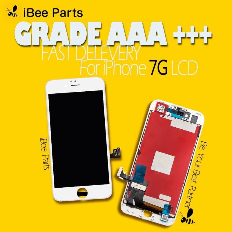50 pièces Pour Tianma & Shenchao Pantalla AAA Pour l'iphone 7 écran tactile lcd remplacement d'écran sans dhl frais