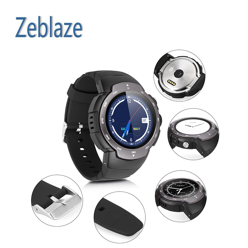 Smart Phone Watch GPS Zeblaze Blitz Multi Language Browser/Camera/ Browser/ Heart Rate Monitor Android 5.1 GPS Camera 3G/2G WiFi smart baby watch q60s детские часы с gps голубые