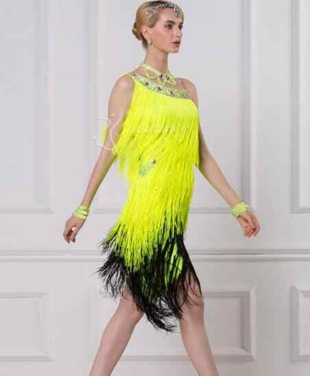 green black customize custom back cutout Rumba cha cha salsa tango Latin  dance competition dress with 4415695ee5d4