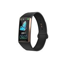 S18 Smart Wristband Bluetooth Bracelet Heart Rate Pressure Waterproof Step Skip smart band