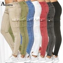 Plus Size S-3XL Vingate Jeans Women's Pants Casual 2019 New Womens Jeans Denim Regular Jeans Pockets Trousers Women Streetwear lee women s jeans lima