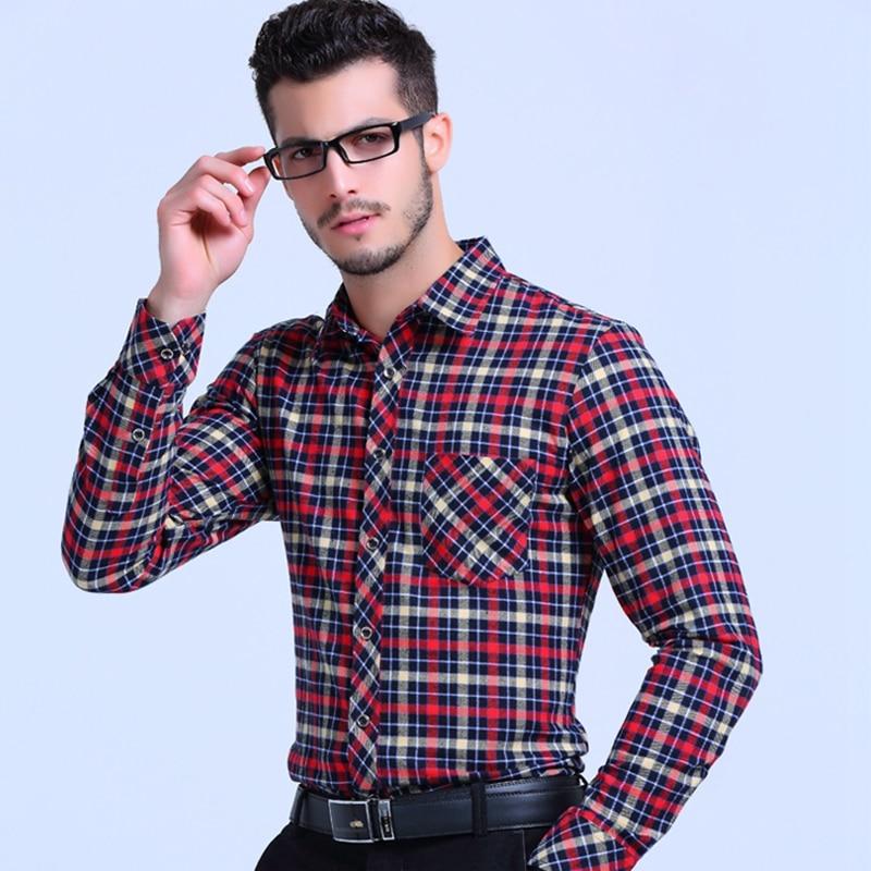 2017 top quality 100 cotton boss men girds social shirts for Best fitting men s dress shirts