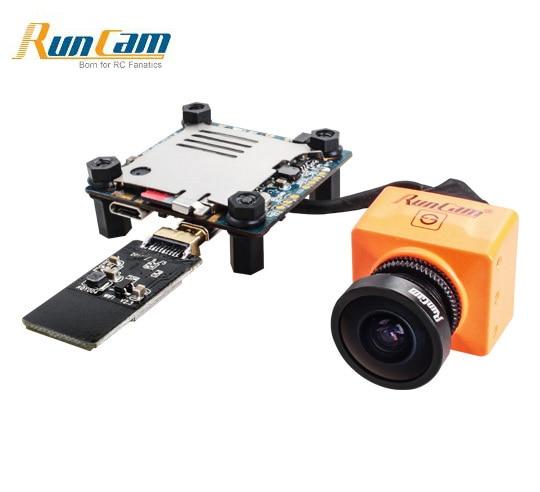 RunCam Split 2 mini FPV WiFi Camera 2 Megapixels 1080P/60fps HD recording plus WDR NTSC/PAL for FPV RC Quadcopter Multicopter aomway 1200tvl 960p ccd hd mini camera 2 8mm lens for fpv