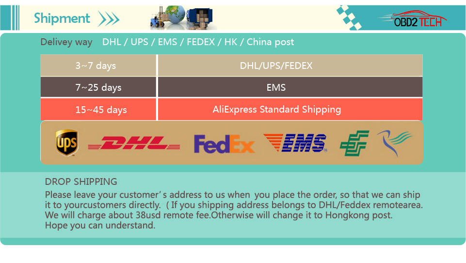 002 shipment