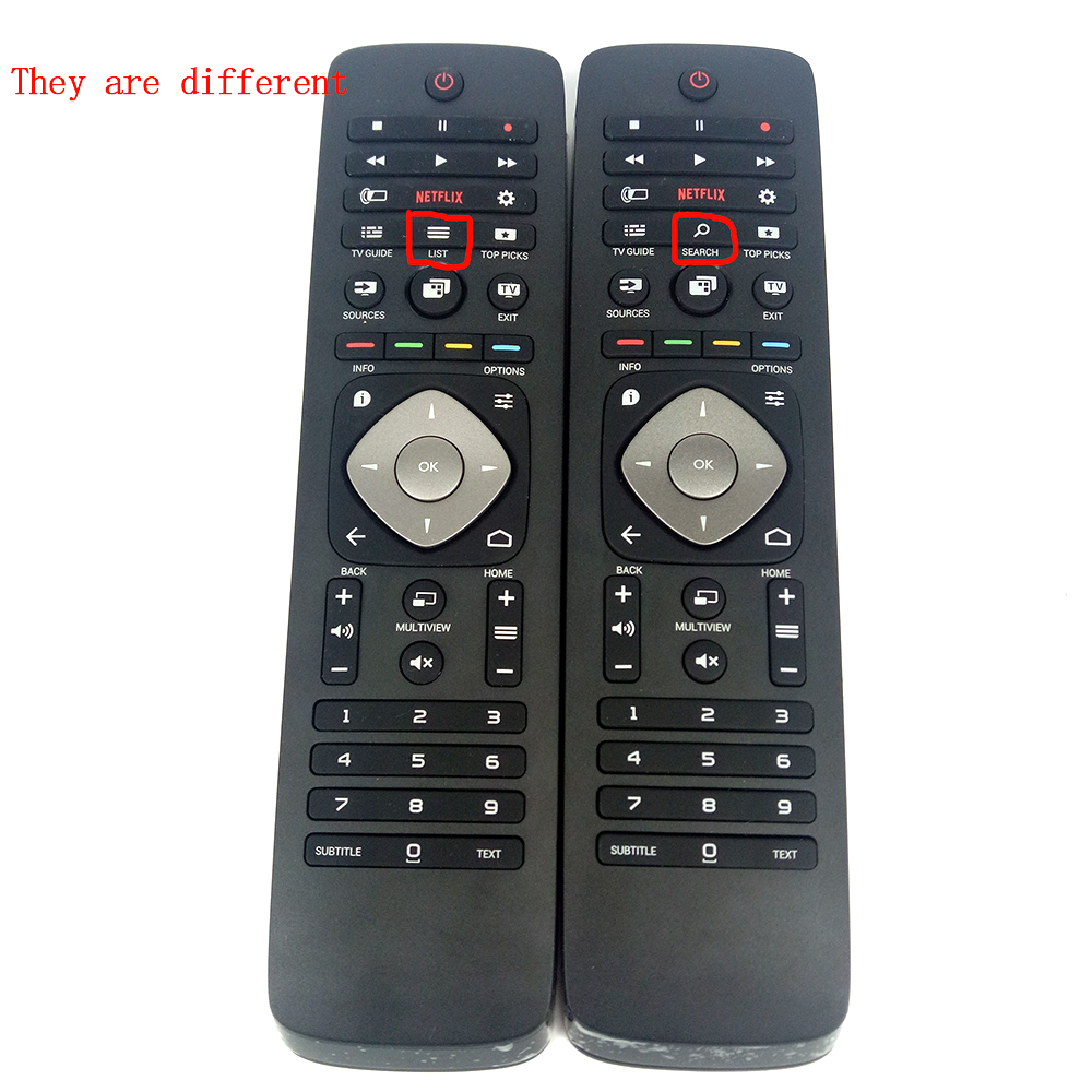 New Original 398GF15BEPH10T YKF352-004 for PHILIPS TV Remote Control Netflix 398GF10BEPH02T YKF352-B01 FOR 55PUS7100 65PUK7120 new remote control tvrc51312 12 ykf315 z01 for philips tv with keyboard