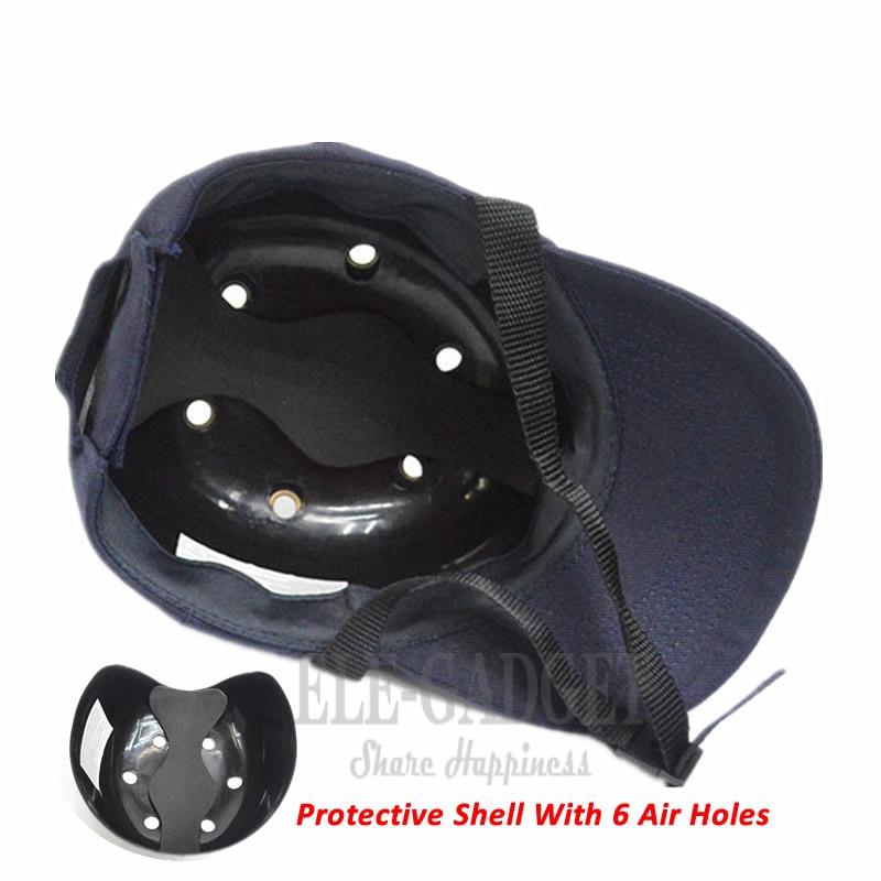 Image 2 - Новая Рабочая защитная кепка, шлем, бейсбольная кепка, Стильная защитная жесткая шапка для работы, одежда, защита головы-in Защитный шлем from Безопасность и защита on AliExpress