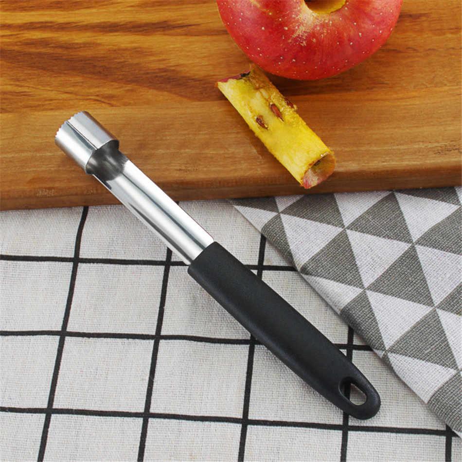 VOGVIGO gorąca sprzedaż! Czarny ze stali nierdzewnej owoce jabłko gruszka Corer remover krajalnice nóż narzędzia kuchenne wysokiej jakości
