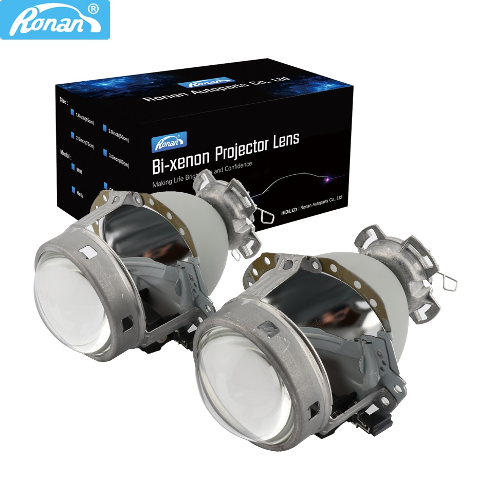 RONAN 3 0 E55 G2 D2S bi xenon Projector Headlight Lens For BMW E65 Audi A6