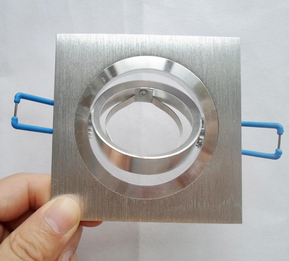 Dhl 100 Mr16 Brim Spot Light Edge Gu10 Frame Single Led Down Fixture Aluminum Beam Angle Adjule Accessories